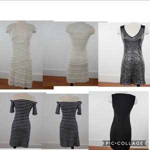 Papillon Blanc, Max Studio Monteau Dress Bundle XS
